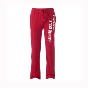 Other - Men's sriracha lounge pants red Large NWT